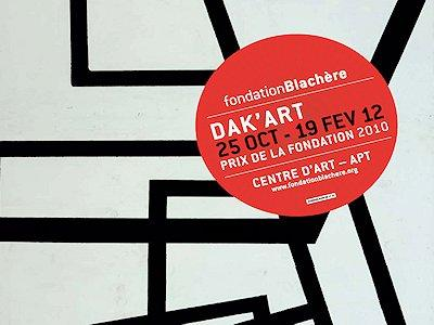 Exposition DAK ART 10 à la Fondation Blachère à Apt jusqu'au 19 février
