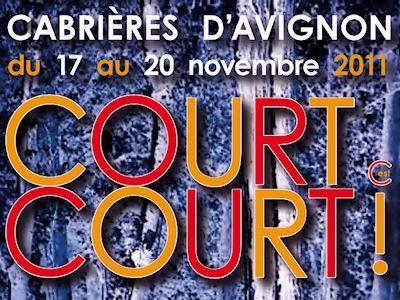 Festival de Courts Métrages du 17 au 20 novembre, à Cabrières d'Avignon