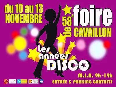Foire de Cavaillon du 10 au 13 novembre