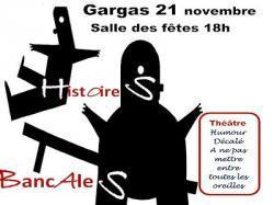 Théâtre à Gargas le samedi 21 novembre