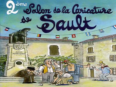 Salon de la Caricature du 22 au 26 juillet à Sault