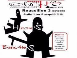 Théâtre à Roussillon le 3 octobre