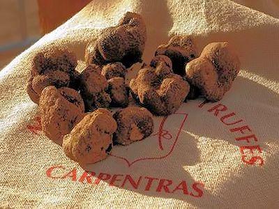 Marché aux truffes de Carpentras jusqu'à fin mars