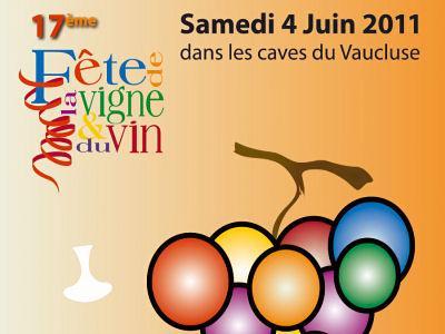 Fête de la vigne et du Vin, samedi 4 juin, dans le Vaucluse