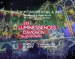 Les Luminessences d'Avignon jusqu'au 30 septembre