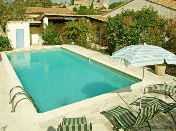 Location vacances piscine - Maubec - Le Tournesol - Luberon Provence